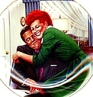 THE BIG SQUEEZE - I LOVE LUCY TV SHOW - Artist J. Kritz 50's 60's nostalgia (Image1)