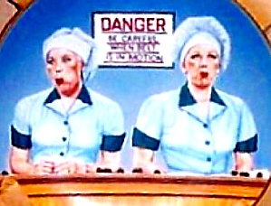 1990 EATING THE EVIDENCE I LOVE LUCY SHOW Classic Chocolate Lovers Chocaholics Kritz (Image1)