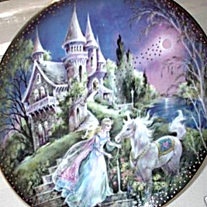 Moonlit Manor 84-b10-572.4 Kingdom Of Enchantment Mimi Jobe Bradford Unicorn Fairy 96