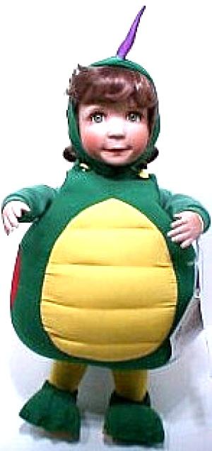 COBABE's Costume Kids MISS DINOMITE L. Laura COBABE Halloween Dino Dinosaur Girl 1995 (Image1)