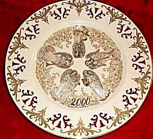 Lenox 2000 Messengers of Harmony Millennium Angel Limited Edition Collector Plate NIB (Image1)