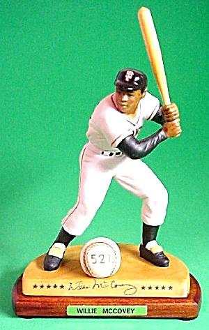 WILLIE MCCOVEY Hamilton SI Sports Impressions Legendary Hitters 500 MLB MIB SF Giants (Image1)