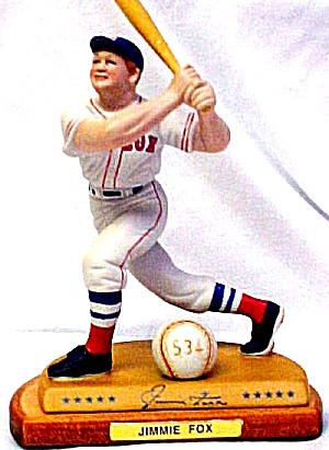 JIMMIE FOXX  Hamilton SI Sports Impressions Legendary Hitters 500 MIB Boston Red Sox (Image1)