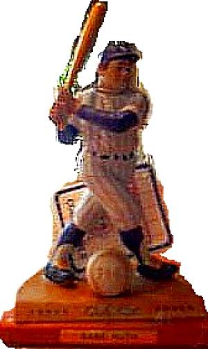 Legendary Hitters BABE RUTH SI Sports Impressions Hamilton NY Yankees Wood Base Bat (Image1)