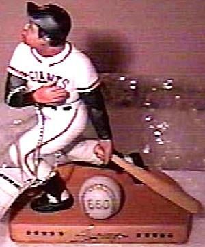 WILLIE MAYS SI Sports Impressions Hamilton Legendary Hitters 500 San Francisco Giants (Image1)