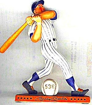 MICKEY MANTLE Hamilton SI Sports Impressions Legendary Hitters MLB 500 MIB NY Yankees (Image1)
