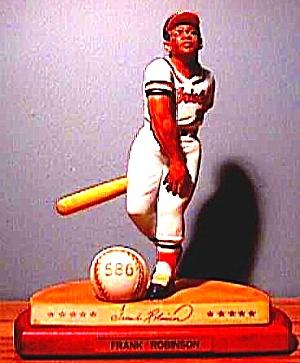 FRANK ROBINSON Hamilton SI Sports Impressions Legendary Hitters 500 Baltimore Orioles (Image1)