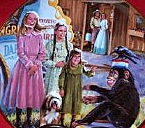 Medicine Show #3 Little House On The Prairie Michael Landon 70s Christopherson Chimp