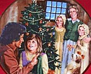 INGALLS FAMILY CHRISTMAS #7 LITTLE HOUSE ON THE PRAIRIE Michael Landon Christopherson (Image1)