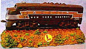Lionel New York Central # 2333 Locomotive Musical 'new York, New York' Nyc Pprwt