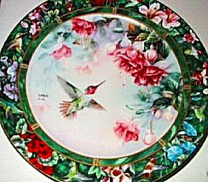 The Anna's Hummingbird Lena Liu's Hummingbirds Treasury 1992 #2 Bradex 84-G20-71.2 92 (Image1)