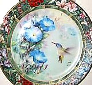Violet Crowned Hummingbird Lena Liu's Hummingbird Treasury Bradex 1992 #3 84-G20-71.3 (Image1)