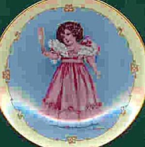1991 FIRST PARTY LITTLE LADIES Maude Humphrey BOGART Victorian Dress-Up Girl Hamilton (Image1)