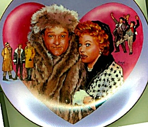 I Love Lucy Meets The TV Stars RED SKELTON  Plate Collection Artist Morgan Weistling (Image1)