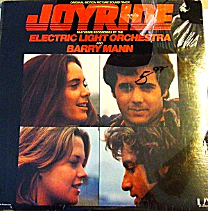 JOYRIDE OST Electric Light Orchestra Barry Mann Jimmie Haskell LP UA-LA784-H 1977 Ori (Image1)