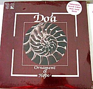 DO'A Ornament Of Hope Randy Armstrong - Ken LaRoche '79 LP 9000 World Worship Jazz VT (Image1)