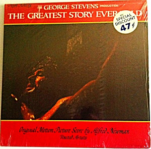 THE GREATEST STORY EVER TOLD SOUNDTRACK ALFRED NEWMAN United Artists UAL 4120 1965 11 (Image1)