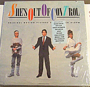 She's Out Of Control Lp Danza Oingo Avalon Club Falter Hinton Jetboy Kinks Starr 1988