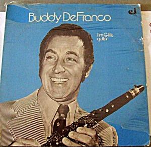 BUDDY DE FRANCO Clarinet Jim Gillis Guitar CLASSIC JAZZ Records 1977 LP CJ33 Etudes N (Image1)