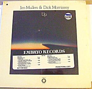 Jim Mullen & Dick Morrissey UP 1977 LP SD 536 Average White Band Vandross Houston (Image1)