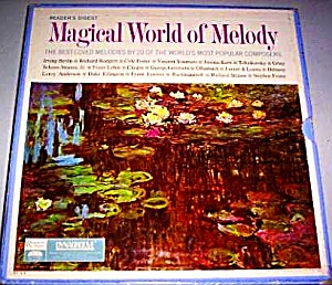 Reader's Digest Magical World Of Melody Vocal Jazz Swing Pop Classical 10 Lp Box Set