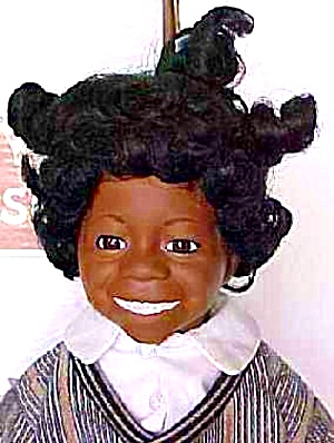 Ashton Little Rascals Buckwheat Our Gang Doll Otay Black 15 Inch Hoffman Joe Sheryl