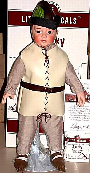 ASHTON Drake SPANKY ARBOR DAY Our Gang Hamilton Hoffman '97 #23159 Porcelain Doll MIB (Image1)