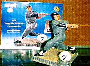 Mickey Mantle SWITCH HITTER CONNECTS Hamilton SI Sports Impressions Figurine MLB 1996 (Image1)