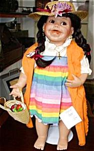 LEILA 1999 Cindy Marschner Rolfe Hamilton Ashton Drake Mexican girl 19 ½ inch Mexican (Image1)