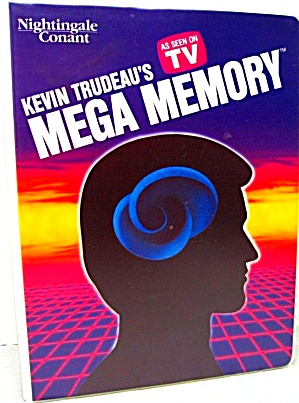 Kevin Trudeau Mega Memory As Seen On TV 9 Cassette Tape Workbook Self-Improvement Con (Image1)