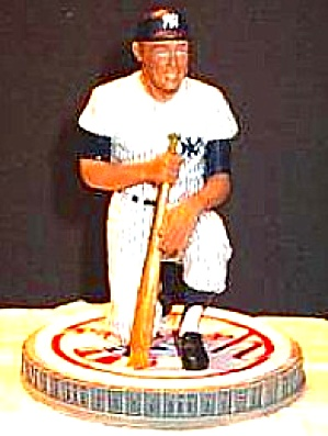MICKEY MANTLE ON DECK Hamilton SI Sports Impressions Series MLB Yankee Stadium #7 (Image1)