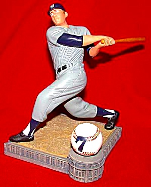 MICKEY MANTLE SWITCH HITTER CONNECTS Hamilton SI Sports Impressions Series MLB (Image1)