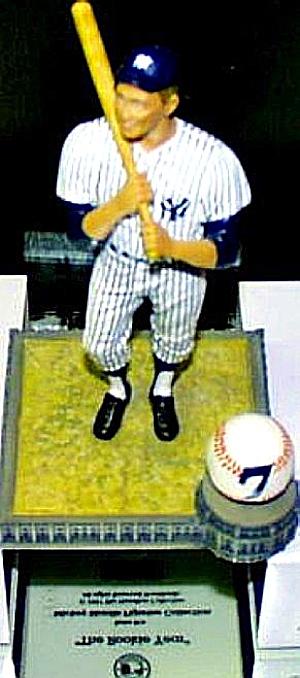 MICKEY MANTLE ROOKIE YEAR S.I. SPORTS IMPRESSIONS HAMILTON Yankees Number 7 #7 COA 97 (Image1)