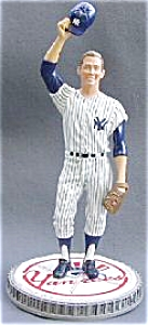 Mickey Mantle SALUTES THE FANS Hamilton SI Sports Impressions Series MLB 1996 YANKEES (Image1)
