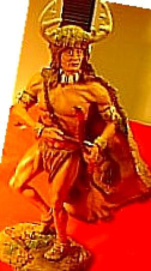 Mystic Spirits SPIRIT OF THE DEER Indian Brave S Douglas Hamilton Figurine Collection (Image1)