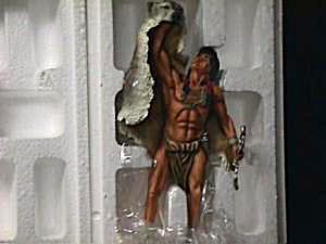 Mystic Spirits SPIRIT OF THE WOLF SCOUT Artis S Douglas Hamilton Figure Collection 95 (Image1)