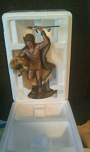 Mystic Spirits SPIRIT OF BUFFALO Artist S Douglas Hamilton Figurine Collection 95 MIB (Image1)