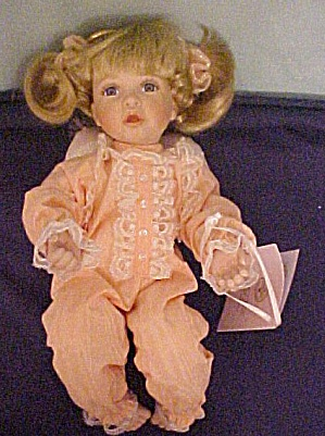I Pray The Lord My Soul To Keep - Mavis Snyder Angel Doll