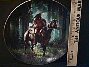 1992 SUNSEEKER  - Mystic Warriors - Artist Chuck Ren Indian Brave & Horse Series (Image1)