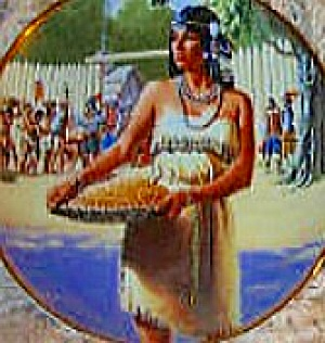 POCAHONTAS : NOBLE AMERICAN INDIAN WOMEN - David WRIGHT (Image1)