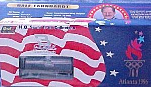 Dale EARNHARDT 1996 OLYMPICS Atlanta 4 PC. REVELL TRAIN SET Nascar #3113 3 Goodwrench (Image1)
