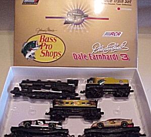Dale EARNHARDT 1996 LIMITED EDITION 3 BASS PRO SHOP 7 PC TRAIN 5004 Revell NASCAR COA (Image1)