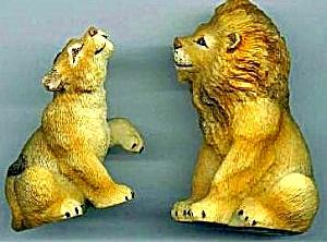 LIONS LION - Noahs Noah's Endearing Mates Pair set E. Elfie Harris (Image1)