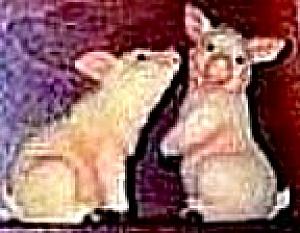 PIGS PIG - Noah's Noahs Endearing Mates Pair set - HTF -E. Elfie Harris (Image1)