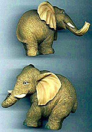 ELEPHANTS ELEPHANT - NOAHS Noah's Endearing Mates Pair set E. Elfie Harris (Image1)