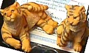 TIGER TIGERS - Noah's Noahs Endearing Mates Pair by Artist Elfie Harris (Image1)