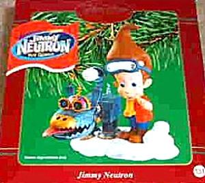 JIMMY NEUTRON 2002 131 CXOR-084G CARLTON NICKELODEON GODDARD Snowball Catapult PetDog (Image1)