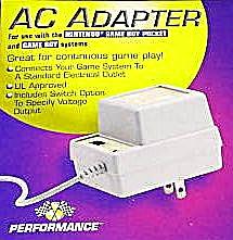 Game Boy Pocket AC Adaptor P-095GB USA Performance 1997 Dual Plug 3v 6v Muld410306250 (Image1)