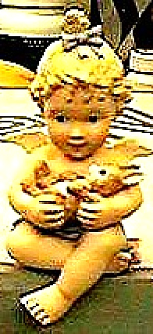 Natures Little Cherubs Cherub Of The Creatures Angel Bunny 1of 8 J. B. Smith Hamilton