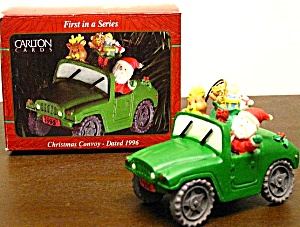 Carlton Cards Operation Santa Christmas Convoy 1996 First 1st in Series Jeep Military (Image1)